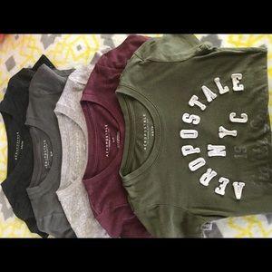 Lot of 5 Aeropostale T shirts